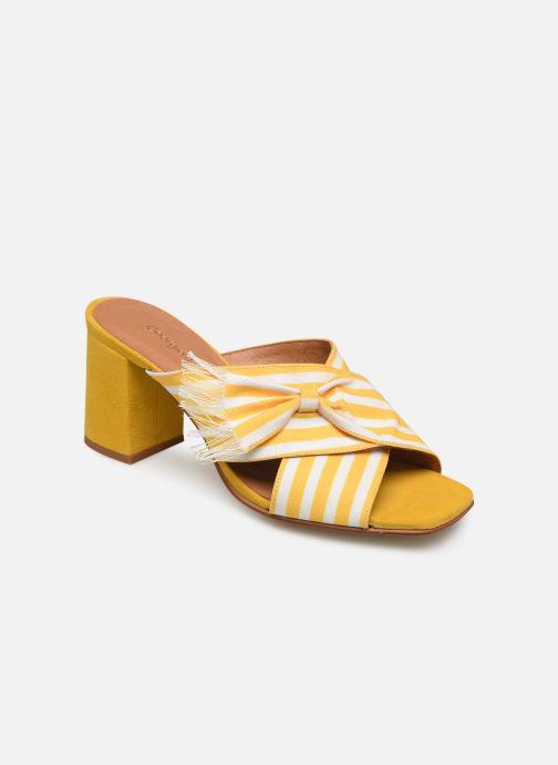 Clogs & Pantoletten Georgia Rose Elosun gelb detaillierte ansicht/modell