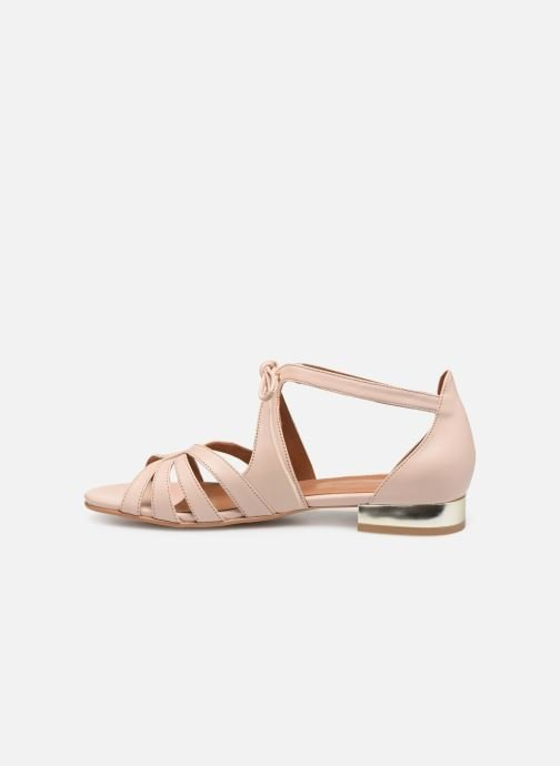 Sandales et nu-pieds Georgia Rose Eliena Beige vue face