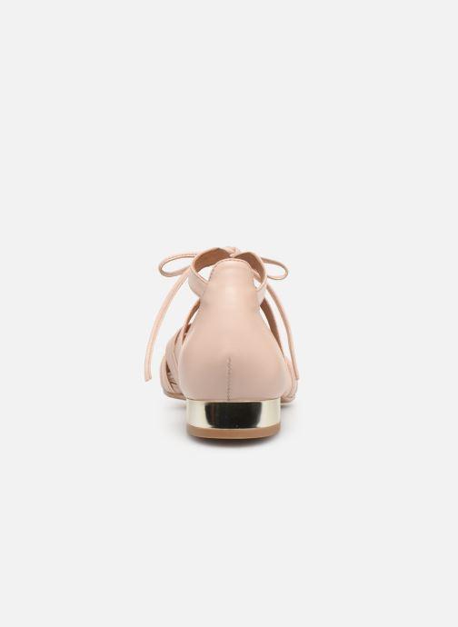 Sandales et nu-pieds Georgia Rose Eliena Beige vue droite