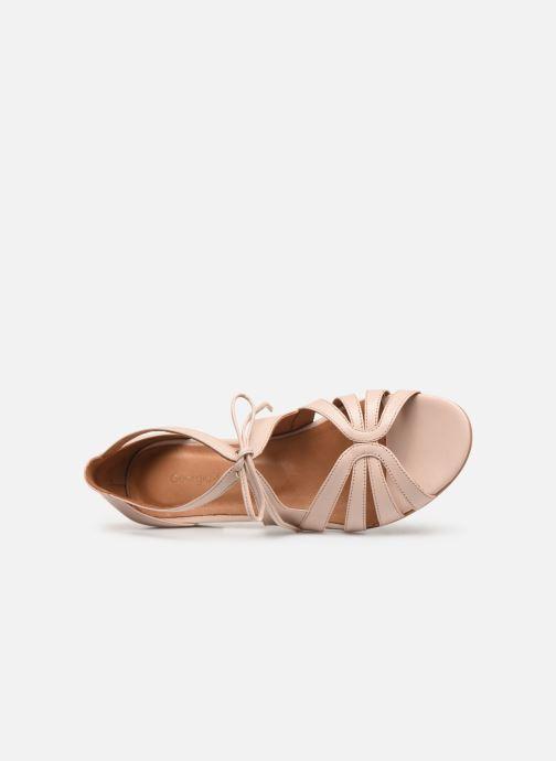 Sandales et nu-pieds Georgia Rose Eliena Beige vue gauche