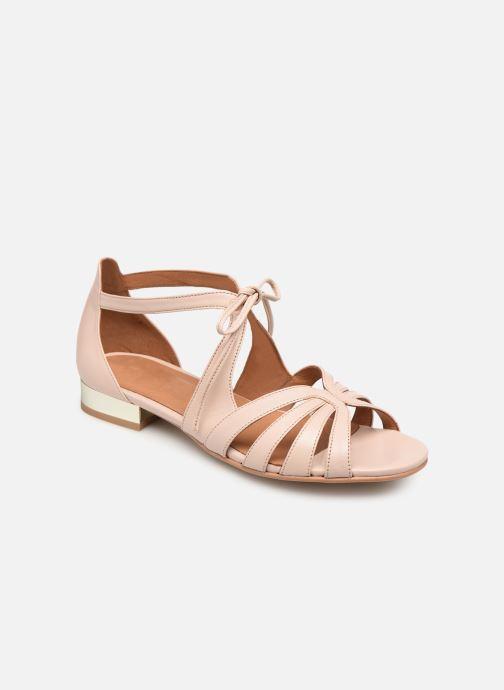 Sandales et nu-pieds Georgia Rose Eliena Beige vue détail/paire