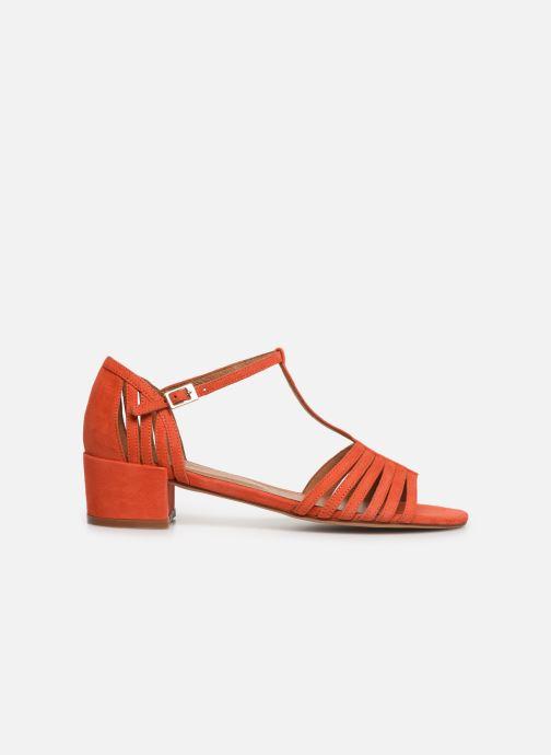 Sandales et nu-pieds Georgia Rose Emulti Orange vue derrière