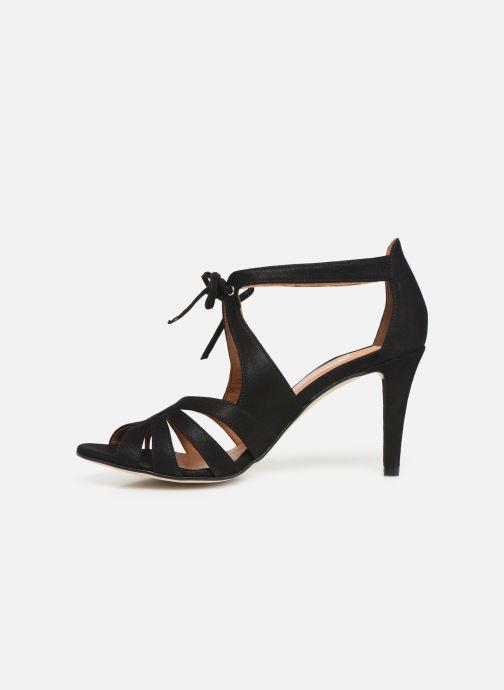 Sandales et nu-pieds Georgia Rose Espera Noir vue face
