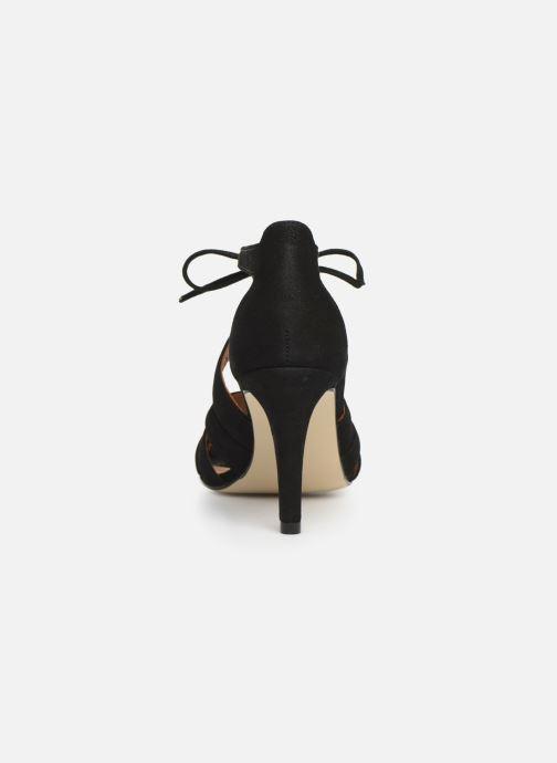 Sandales et nu-pieds Georgia Rose Espera Noir vue droite