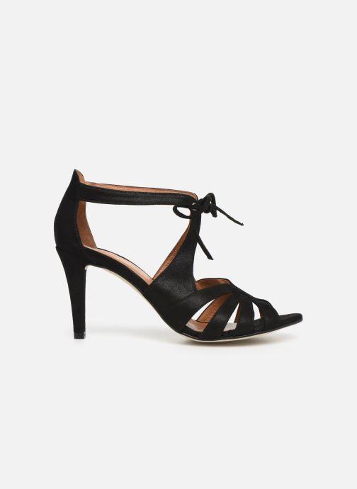 Sandales et nu-pieds Georgia Rose Espera Noir vue derrière