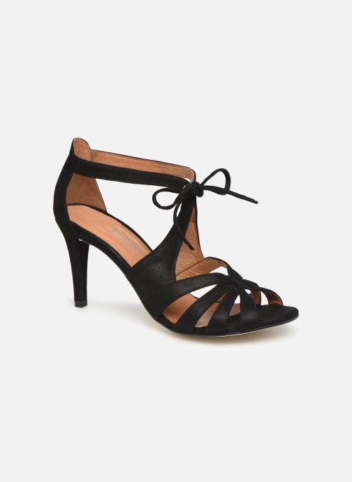 Sandales et nu-pieds Georgia Rose Espera Noir vue détail/paire