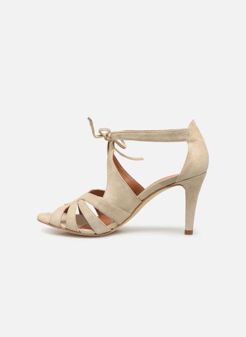 Sandales et nu-pieds Georgia Rose Espera Or et bronze vue face