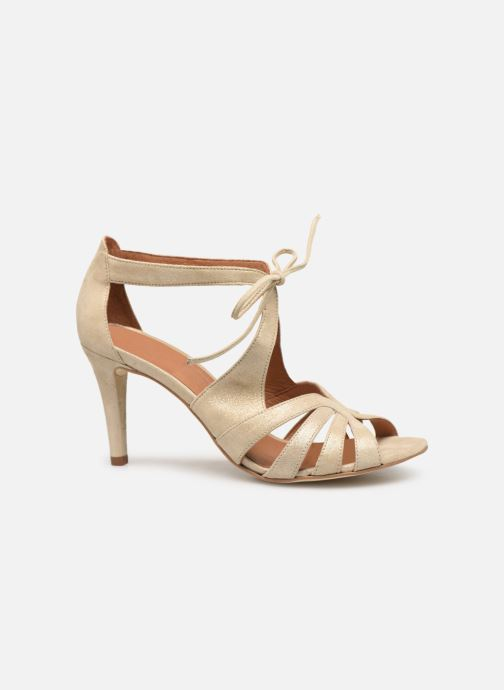 Sandales et nu-pieds Georgia Rose Espera Or et bronze vue derrière