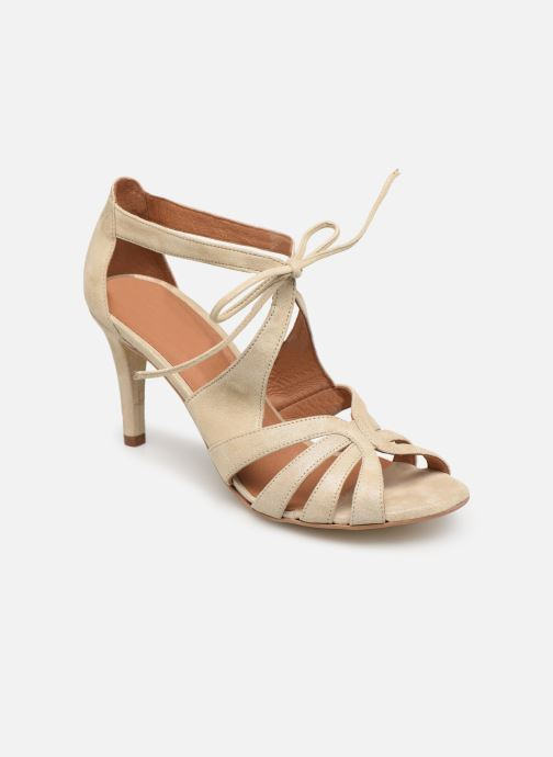 Sandales et nu-pieds Georgia Rose Espera Or et bronze vue détail/paire