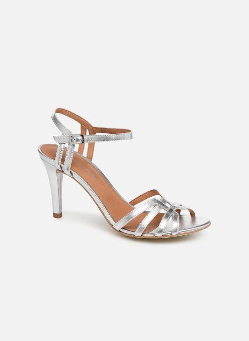 Sandales et nu-pieds Georgia Rose Euria Argent vue détail/paire