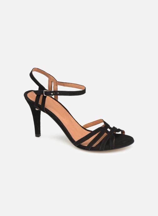 Sandales et nu-pieds Georgia Rose Euria Noir vue détail/paire