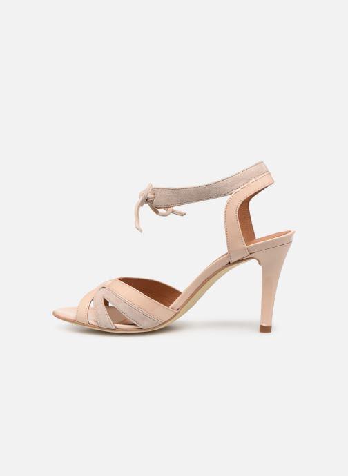Sandales et nu-pieds Georgia Rose Eurydice Beige vue face
