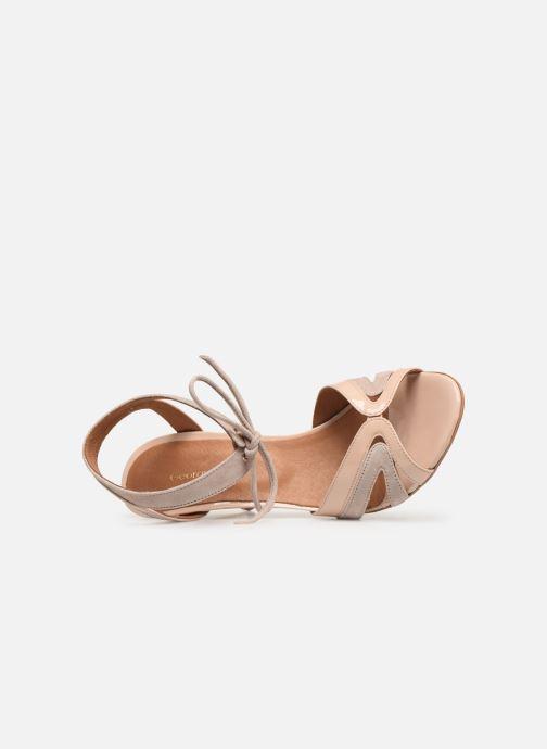 Sandales et nu-pieds Georgia Rose Eurydice Beige vue gauche