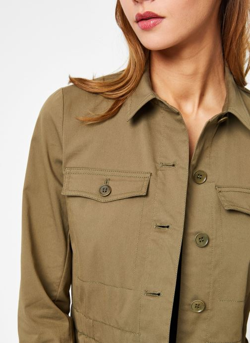 Vêtements Bensimon VESTE BEATRICE Vert vue face
