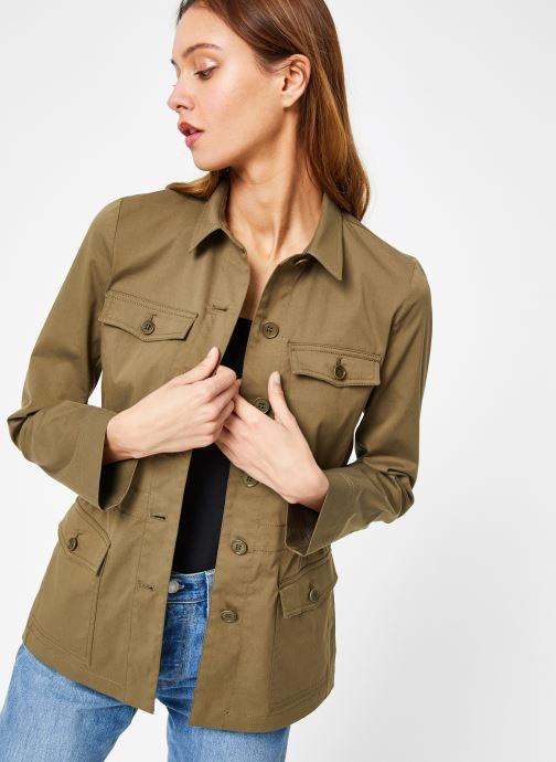Vêtements Bensimon VESTE BEATRICE Vert vue détail/paire