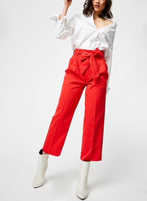 Vêtements Bensimon PANTALON BESNA Rouge vue bas / vue portée sac