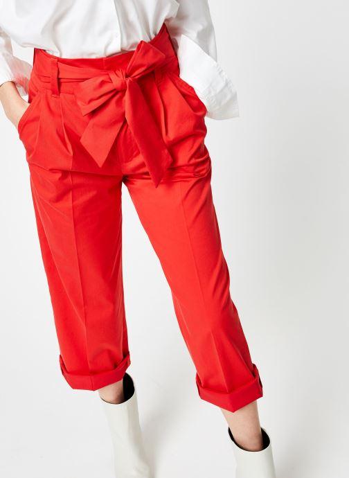 Vêtements Bensimon PANTALON BESNA Rouge vue détail/paire