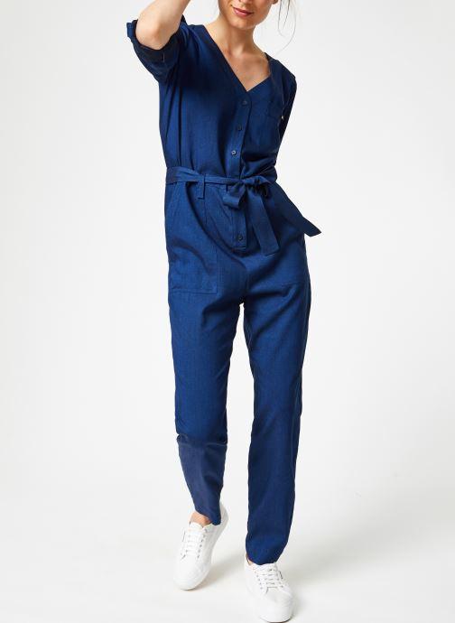 Vêtements Bensimon COMBI BALTUS Bleu vue bas / vue portée sac