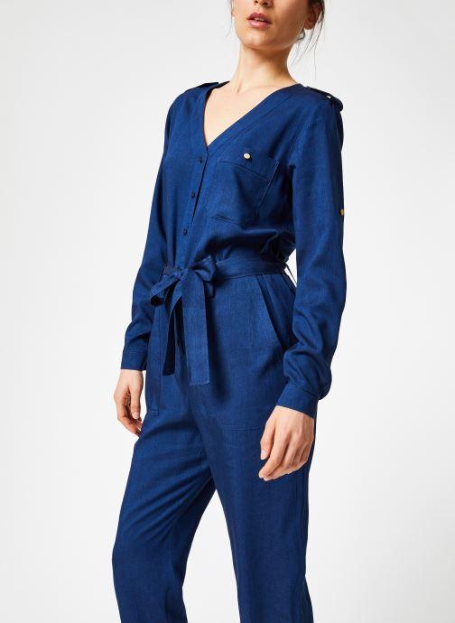 Vêtements Bensimon COMBI BALTUS Bleu vue droite