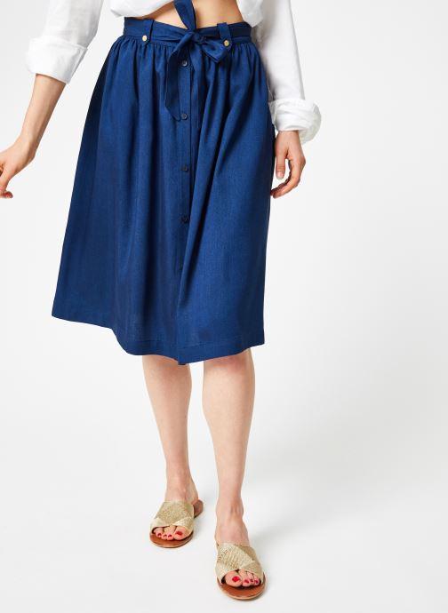 Tøj Bensimon JUPE BAURELIA Blå detaljeret billede af skoene