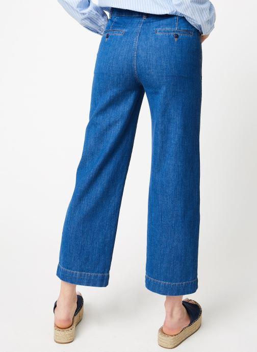 Vêtements Bensimon PANTALON BLUE Bleu vue portées chaussures