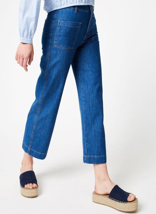 Vêtements Bensimon PANTALON BLUE Bleu vue détail/paire