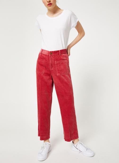 Vêtements Bensimon PANTALON BLUE Rouge vue bas / vue portée sac