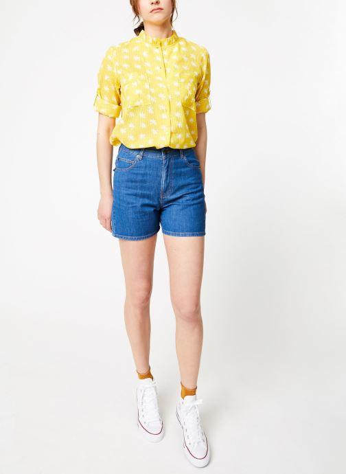 Vêtements Bensimon SHORT BAGA Bleu vue bas / vue portée sac