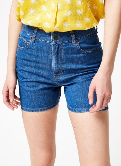 Vêtements Bensimon SHORT BAGA Bleu vue détail/paire