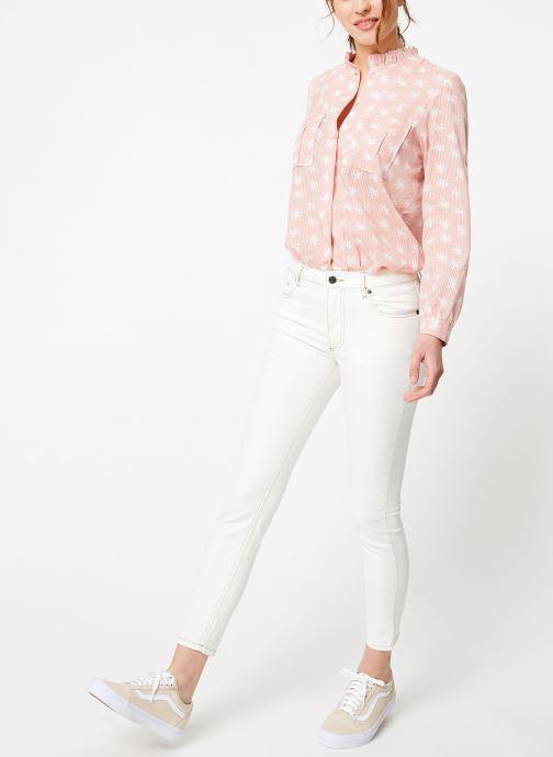 Vêtements Bensimon PANTALON TOOTHPICK Blanc vue bas / vue portée sac