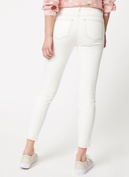Vêtements Bensimon PANTALON TOOTHPICK Blanc vue portées chaussures