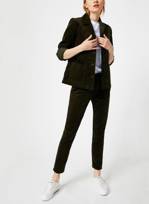 Vêtements Bensimon PANTALON TOOTHPICK Vert vue bas / vue portée sac