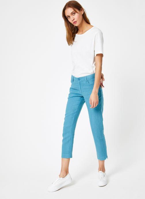 Vêtements Bensimon PANTALON IPANEMA Bleu vue bas / vue portée sac