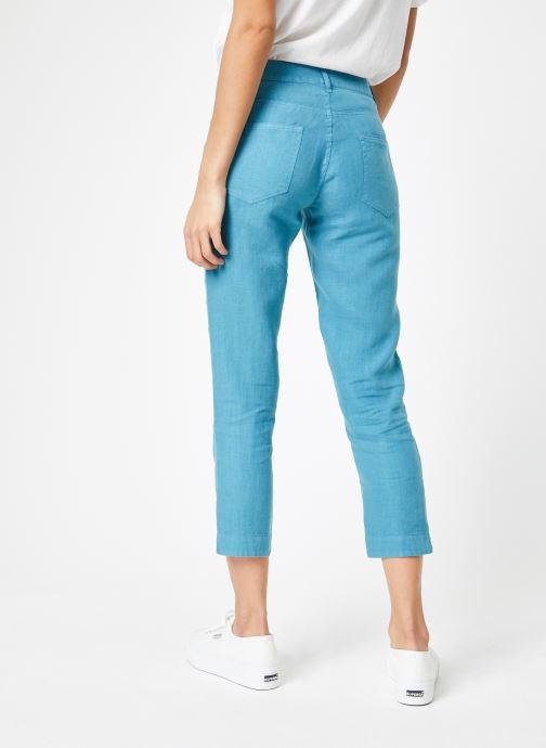 Vêtements Bensimon PANTALON IPANEMA Bleu vue portées chaussures