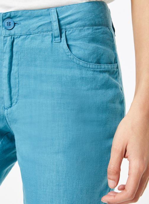 Vêtements Bensimon PANTALON IPANEMA Bleu vue face