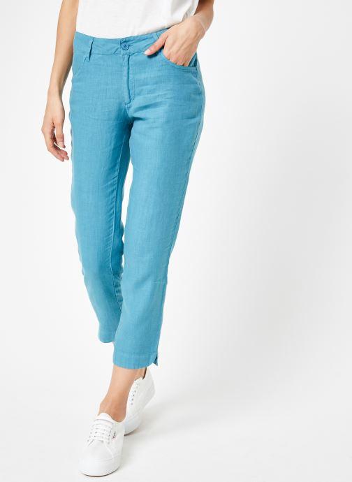 Vêtements Bensimon PANTALON IPANEMA Bleu vue détail/paire