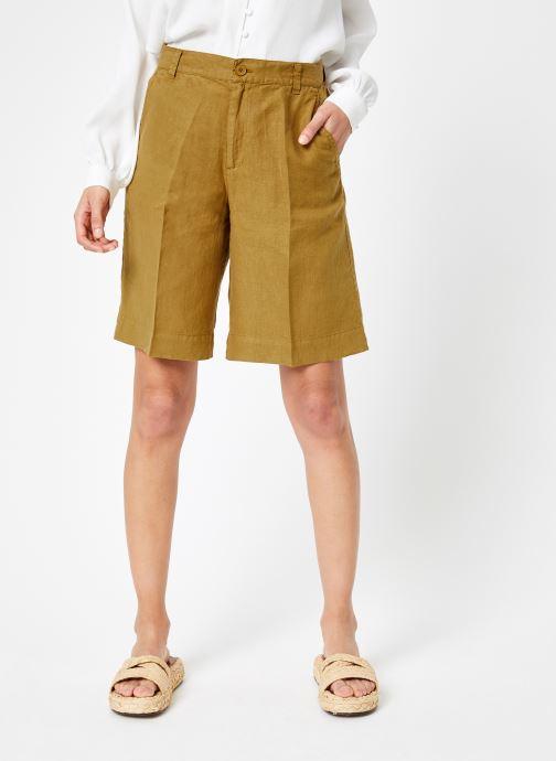 Vêtements Bensimon SHORT BENEDICTE Marron vue détail/paire