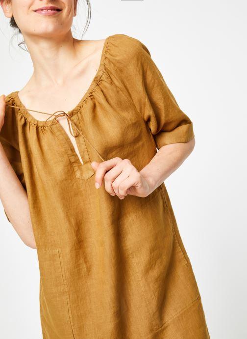 Vêtements Bensimon ROBE DIANE Marron vue détail/paire