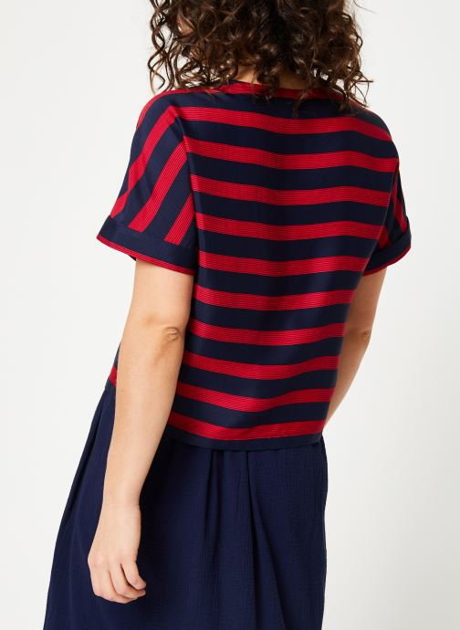 Balmy Bensimon 5209 rouge Top Marine Vêtements 8nwk0PXO