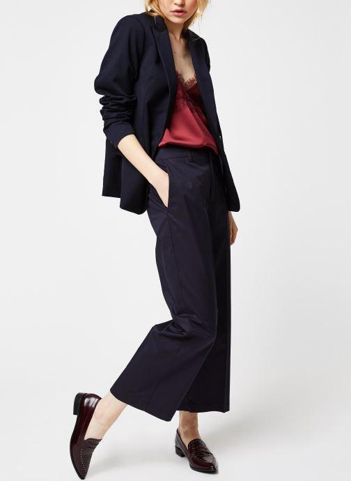 Vêtements Bensimon PANTALON BERTHUS Bleu vue bas / vue portée sac