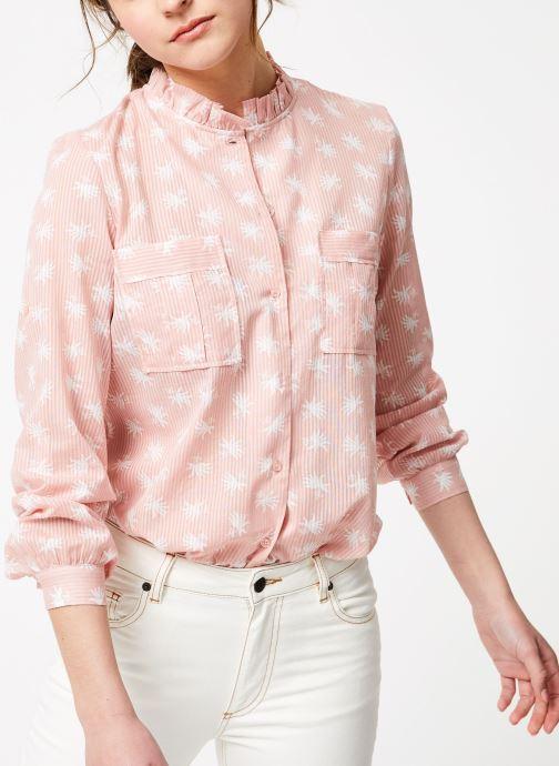 Vêtements Bensimon CHEMISE BALMIER Rose vue détail/paire
