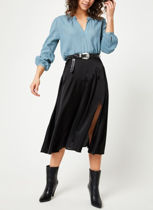 Vêtements Bensimon BLOUSE AZENOR Bleu vue bas / vue portée sac