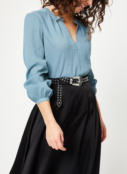 Vêtements Bensimon BLOUSE AZENOR Bleu vue droite