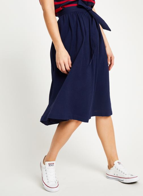 Vêtements Bensimon JUPE BILBAO Bleu vue détail/paire