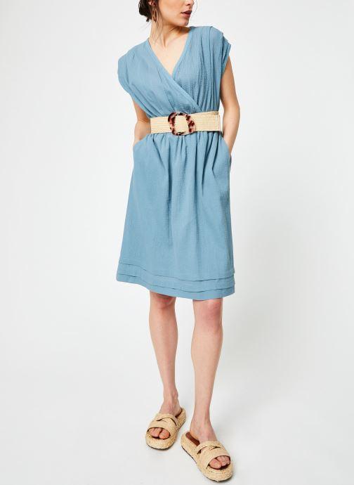 Vêtements Bensimon ROBE BENGAL Bleu vue bas / vue portée sac