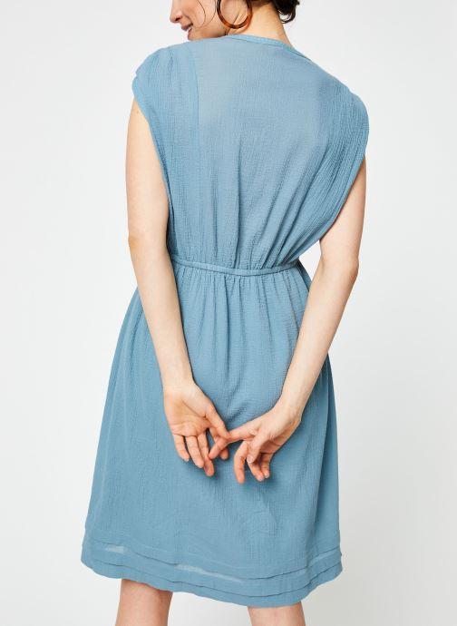 Vêtements Bensimon ROBE BENGAL Bleu vue portées chaussures