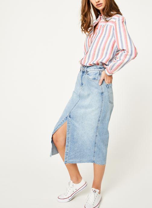Vêtements Bensimon CHEMISE BACARAL Multicolore vue bas / vue portée sac