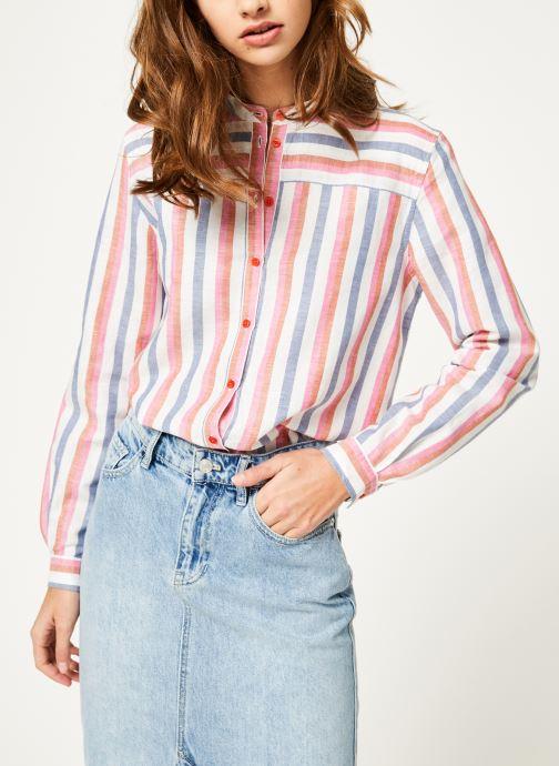 Vêtements Bensimon CHEMISE BACARAL Multicolore vue droite