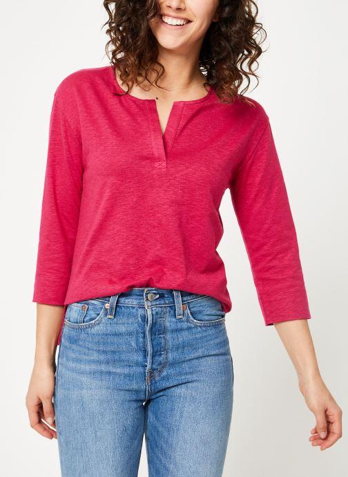 Vêtements Bensimon TEE SHIRT BORIS Rouge vue droite