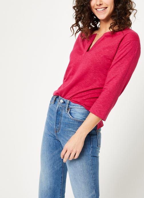 Vêtements Bensimon TEE SHIRT BORIS Rouge vue détail/paire